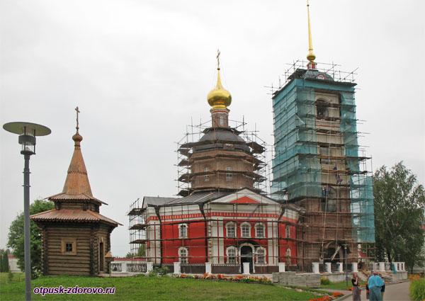 Троицкий собор, Варницы, Троице-Сергиев Варницкий монастырь