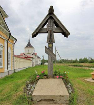 Поклонный крест, Варницы, Троице-Сергиев Варницкий монастырь