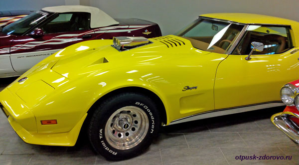 Chevrolet Corvette Stingray, 1973 год