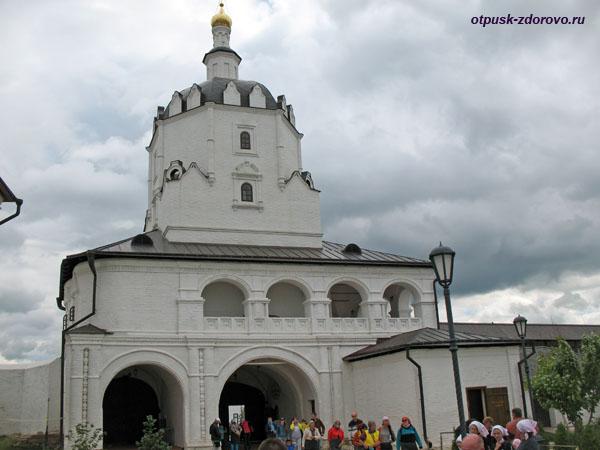 Вознесенская надвратная церковь, Успенский монастырь на острове Свияжск