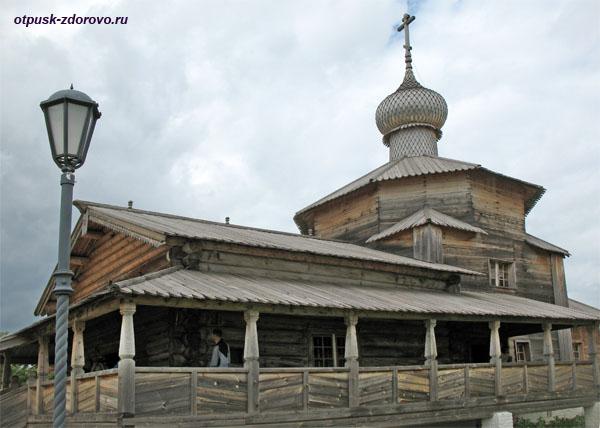 Троицкая деревянная церковь, достопримечательности Свияжска