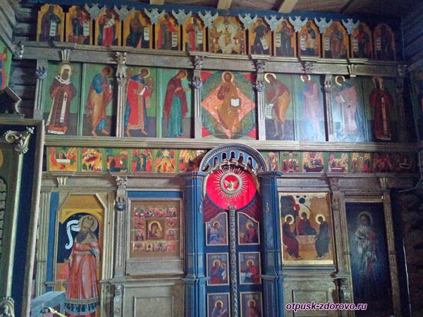 Иконостас, Троицкая церковь, Свияжск