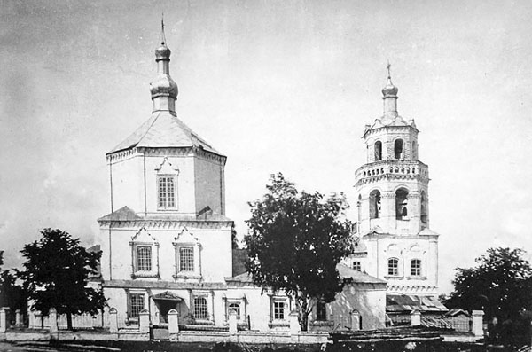Софийская церковь Свияжска, фото 19 века