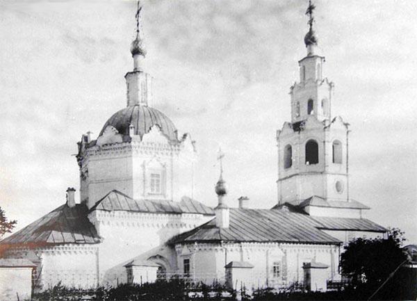 Никольская церковь Свияжска, фото 19 века