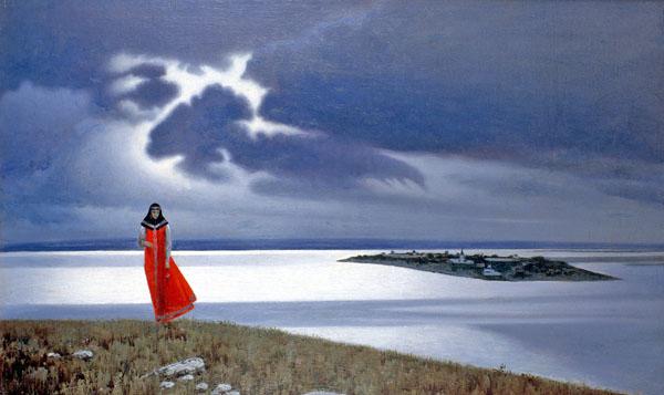Картина Константина Васильева: Свияжск