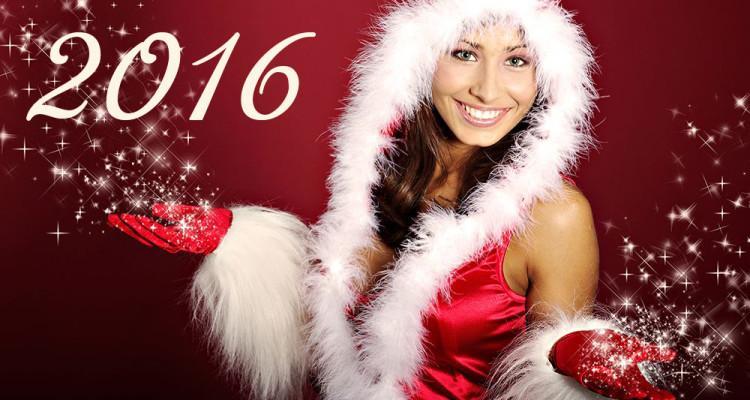 Оригинальное поздравление с Новым годом - 2016!