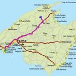 7 день. Пещера Campanet. Монастырь Люк (Черная Мадонна). Пляж Sa Colobra, Cala Tuent.