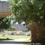 13 день. Как работает общественный транспорт Родоса? Старая крепость и Замок Магистров.