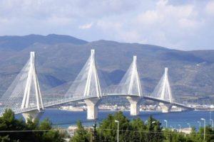 Мост Рио Антирио Пелопоннес, Греция