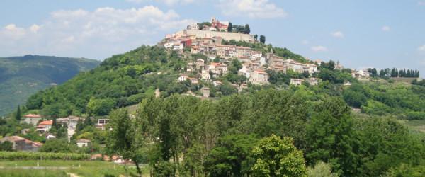 Мотовун - город-крепость , Хорватия