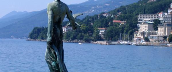 Город Опатия в Хорватии