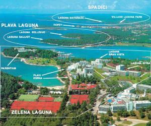 Отели в районе Зеленая Лагуна, Пореч, Хорватия