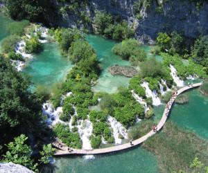 Плитвицкие озера и водопады, Национальный парк Хорватии