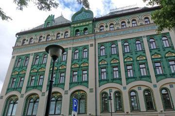 Доходный дом Миансаровой с изразцами на Сухаревской