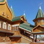 Коломенский деревянный дворец царя Алексея Михайловича в Москве