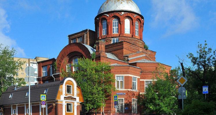 Грузинская церковь в Москве: храм Великомученика Георгия Победоносца в Грузинах