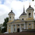 Преображенский храм или Спасская церковь в старинной усадьбе Балашихи