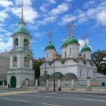 Храм Живоначальной Троицы в Листах на Сретенке (метро Сухаревская)