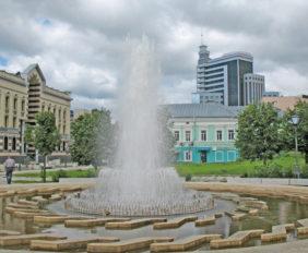 Парки и скверы Казани