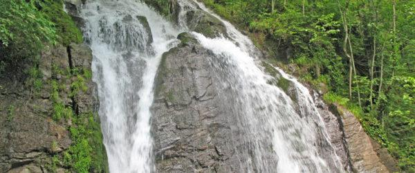 Водопад Кейва в Красной Поляне, Сочи