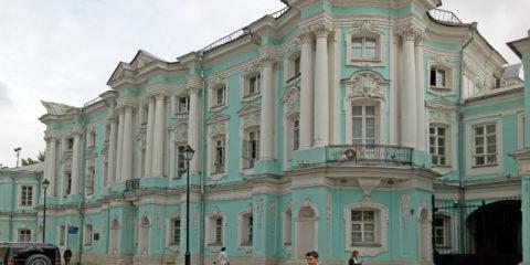 Дом-Комод на Покровке в Москве или Дворец Апраксиных-Трубецких