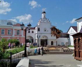 Введенский Владычный монастырь, Серпухов. Женская обитель