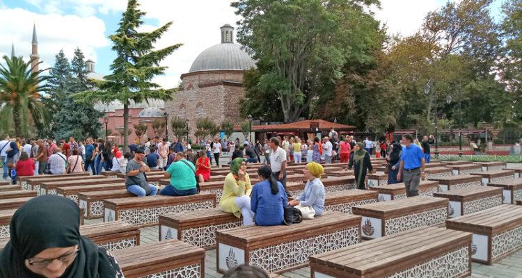 Район Султанахмет в Стамбуле