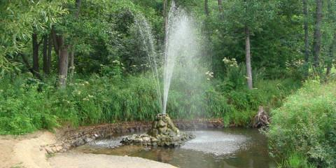 Судогодский гейзер, природный фонтан в Судогде