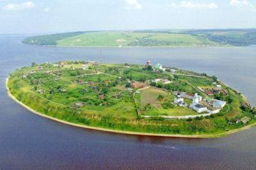 Остров-Град Свияжск достопримечательности