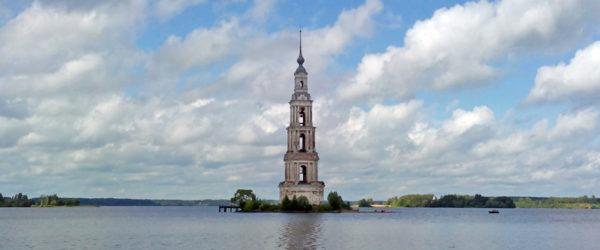 Калязинская колокольня: затопленная церковь в Калязине