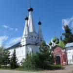 Алексеевский монастырь и Дивная Успенская церковь в Угличе