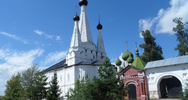 Углич: Алексеевский женский монастырь и чудотворная икона