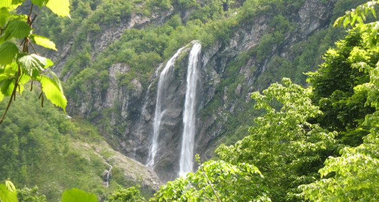 Водопад Поликаря, Красная Поляна