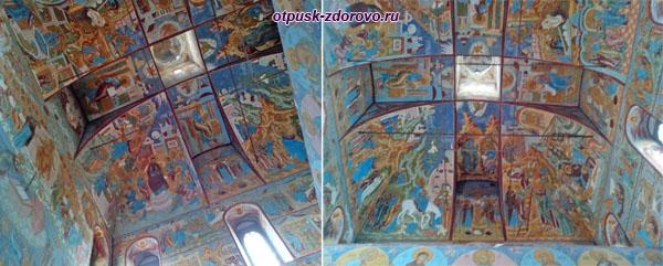 Росписи церкви Спаса Нерукотворного, Ростовский Кремль